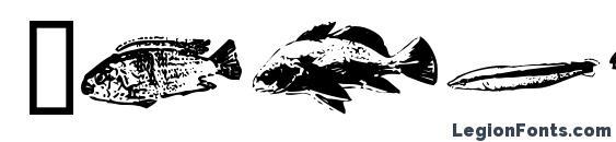 Шрифт Fishpoa