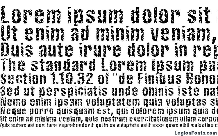 specimens Fistrn font, sample Fistrn font, an example of writing Fistrn font, review Fistrn font, preview Fistrn font, Fistrn font