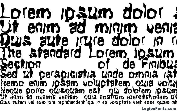 specimens Fitoftears font, sample Fitoftears font, an example of writing Fitoftears font, review Fitoftears font, preview Fitoftears font, Fitoftears font
