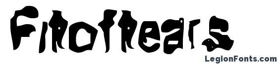 Fitoftears Font, Halloween Fonts