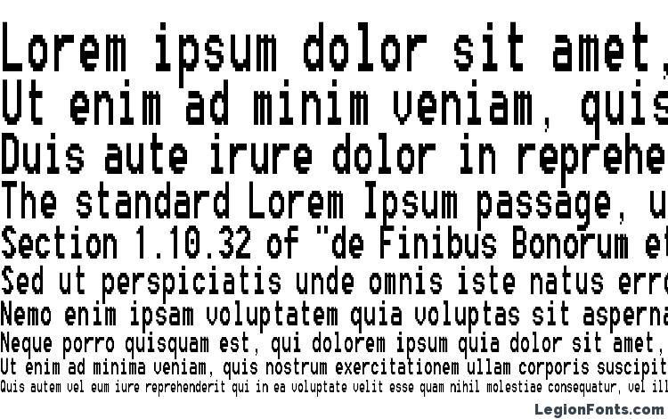specimens Fixsysc font, sample Fixsysc font, an example of writing Fixsysc font, review Fixsysc font, preview Fixsysc font, Fixsysc font
