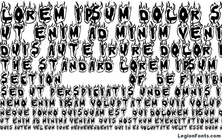 specimens Flamer font, sample Flamer font, an example of writing Flamer font, review Flamer font, preview Flamer font, Flamer font