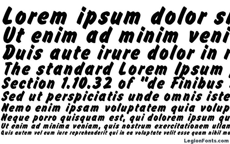 specimens Flash Bold font, sample Flash Bold font, an example of writing Flash Bold font, review Flash Bold font, preview Flash Bold font, Flash Bold font