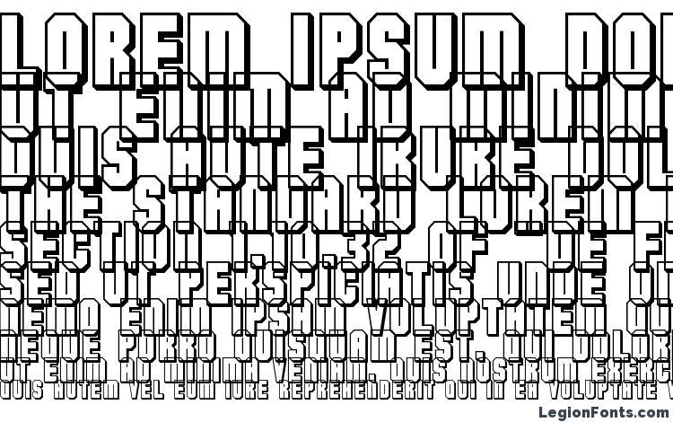 specimens Flashback version 3 font, sample Flashback version 3 font, an example of writing Flashback version 3 font, review Flashback version 3 font, preview Flashback version 3 font, Flashback version 3 font