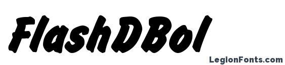 Шрифт FlashDBol