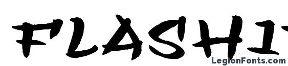 Шрифт Flashit