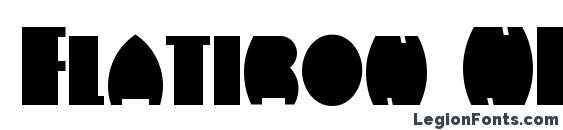 Flatiron NF Font
