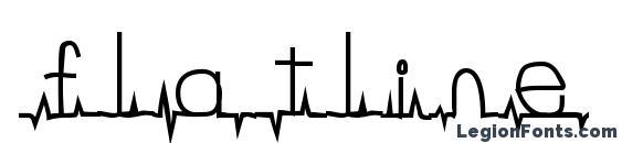 flatline Font