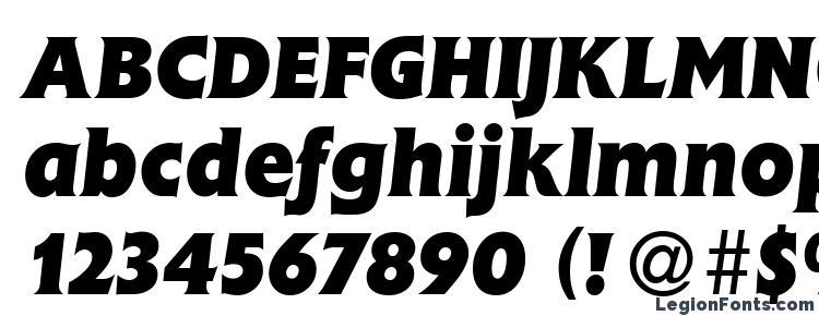 глифы шрифта Fleming Heavy Italic, символы шрифта Fleming Heavy Italic, символьная карта шрифта Fleming Heavy Italic, предварительный просмотр шрифта Fleming Heavy Italic, алфавит шрифта Fleming Heavy Italic, шрифт Fleming Heavy Italic