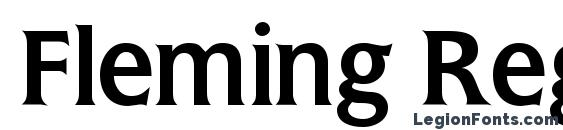 Fleming Regular DB Font