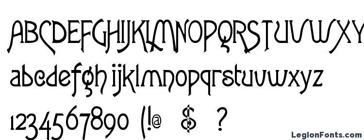 глифы шрифта Fletcher Gothic, символы шрифта Fletcher Gothic, символьная карта шрифта Fletcher Gothic, предварительный просмотр шрифта Fletcher Gothic, алфавит шрифта Fletcher Gothic, шрифт Fletcher Gothic