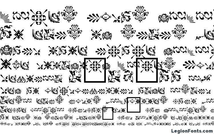 образцы шрифта FleurDesign Dingbats, образец шрифта FleurDesign Dingbats, пример написания шрифта FleurDesign Dingbats, просмотр шрифта FleurDesign Dingbats, предосмотр шрифта FleurDesign Dingbats, шрифт FleurDesign Dingbats