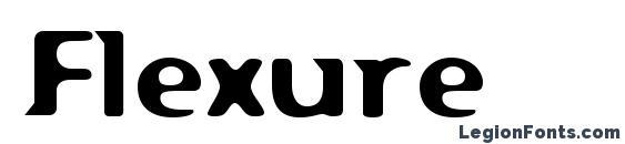 Шрифт Flexure