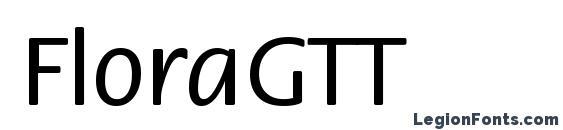 FloraGTT Font