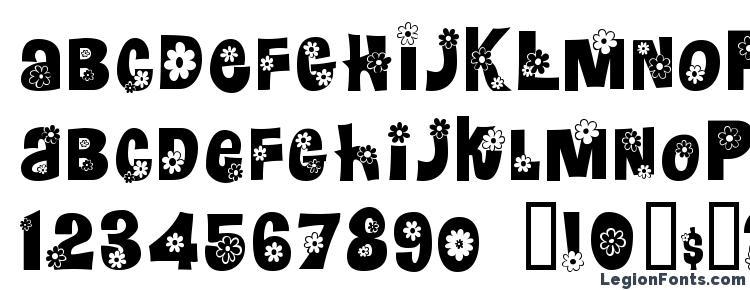 glyphs Floralies font, сharacters Floralies font, symbols Floralies font, character map Floralies font, preview Floralies font, abc Floralies font, Floralies font