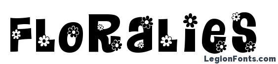 Floralies Font