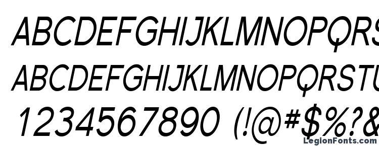 glyphs Florencesans SC Cond Italic font, сharacters Florencesans SC Cond Italic font, symbols Florencesans SC Cond Italic font, character map Florencesans SC Cond Italic font, preview Florencesans SC Cond Italic font, abc Florencesans SC Cond Italic font, Florencesans SC Cond Italic font