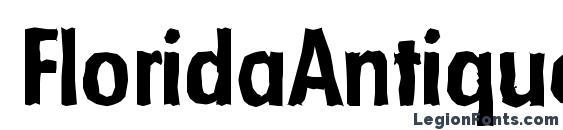 Шрифт FloridaAntique Bold