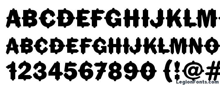 глифы шрифта FlorindaITC TT, символы шрифта FlorindaITC TT, символьная карта шрифта FlorindaITC TT, предварительный просмотр шрифта FlorindaITC TT, алфавит шрифта FlorindaITC TT, шрифт FlorindaITC TT