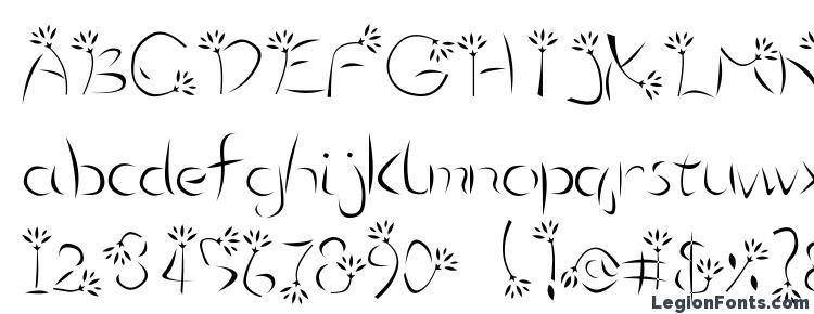 glyphs Flower3 font, сharacters Flower3 font, symbols Flower3 font, character map Flower3 font, preview Flower3 font, abc Flower3 font, Flower3 font