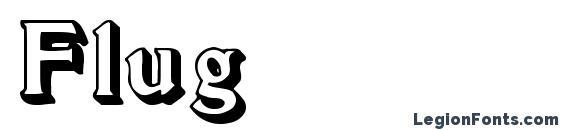 Flug Font
