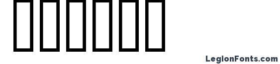 Шрифт Flyman
