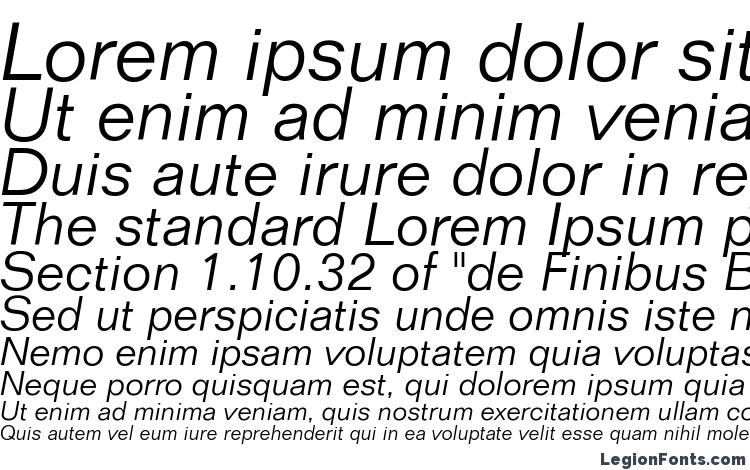 specimens Folio Light Italic BT font, sample Folio Light Italic BT font, an example of writing Folio Light Italic BT font, review Folio Light Italic BT font, preview Folio Light Italic BT font, Folio Light Italic BT font