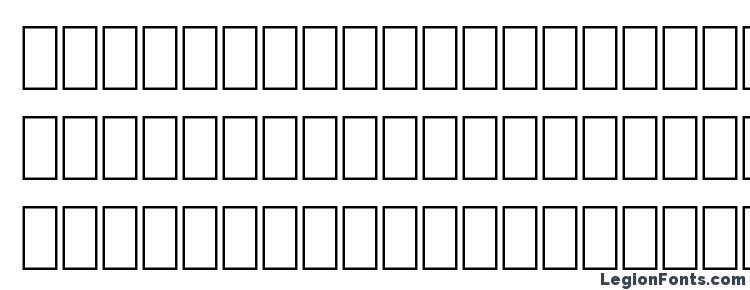 глифы шрифта FONTIERS, символы шрифта FONTIERS, символьная карта шрифта FONTIERS, предварительный просмотр шрифта FONTIERS, алфавит шрифта FONTIERS, шрифт FONTIERS