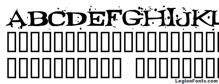глифы шрифта Fontocid, символы шрифта Fontocid, символьная карта шрифта Fontocid, предварительный просмотр шрифта Fontocid, алфавит шрифта Fontocid, шрифт Fontocid