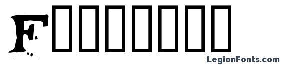 Fontocid Font