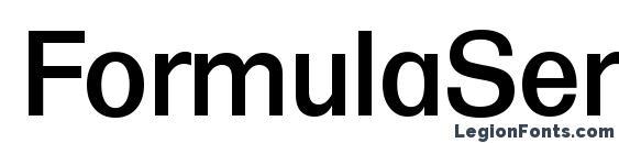 FormulaSerial Medium Regular Font