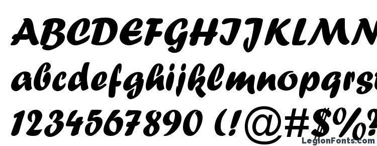 глифы шрифта Forte, символы шрифта Forte, символьная карта шрифта Forte, предварительный просмотр шрифта Forte, алфавит шрифта Forte, шрифт Forte
