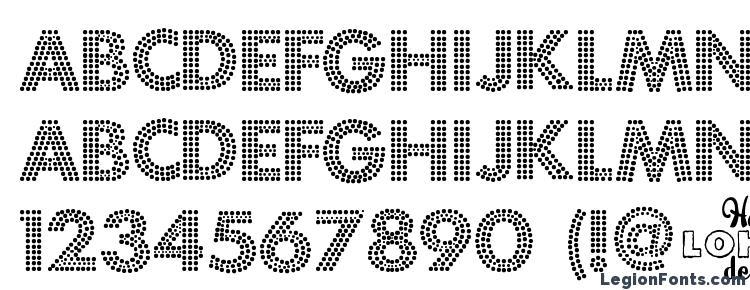 Glyphs Fortuna Dot Font Haracters Symbols Character