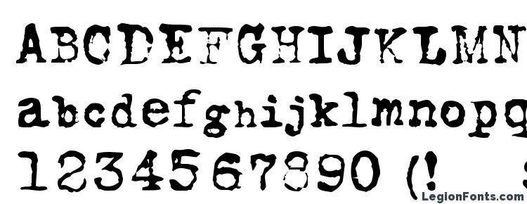 глифы шрифта FoxScript Normal, символы шрифта FoxScript Normal, символьная карта шрифта FoxScript Normal, предварительный просмотр шрифта FoxScript Normal, алфавит шрифта FoxScript Normal, шрифт FoxScript Normal