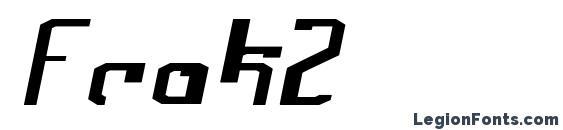 Frak2 font, free Frak2 font, preview Frak2 font