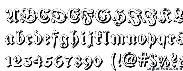 glyphs Fraktur Shadowed font, сharacters Fraktur Shadowed font, symbols Fraktur Shadowed font, character map Fraktur Shadowed font, preview Fraktur Shadowed font, abc Fraktur Shadowed font, Fraktur Shadowed font