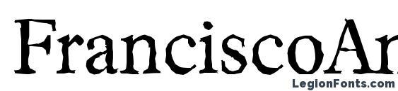 FranciscoAntique Regular Font