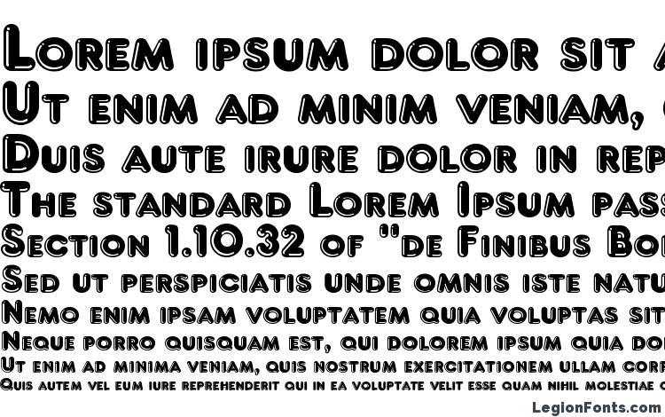 specimens Frankfurt font, sample Frankfurt font, an example of writing Frankfurt font, review Frankfurt font, preview Frankfurt font, Frankfurt font