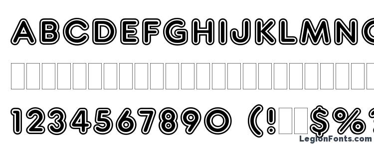 glyphs Frankfurter Inline Plain font, сharacters Frankfurter Inline Plain font, symbols Frankfurter Inline Plain font, character map Frankfurter Inline Plain font, preview Frankfurter Inline Plain font, abc Frankfurter Inline Plain font, Frankfurter Inline Plain font