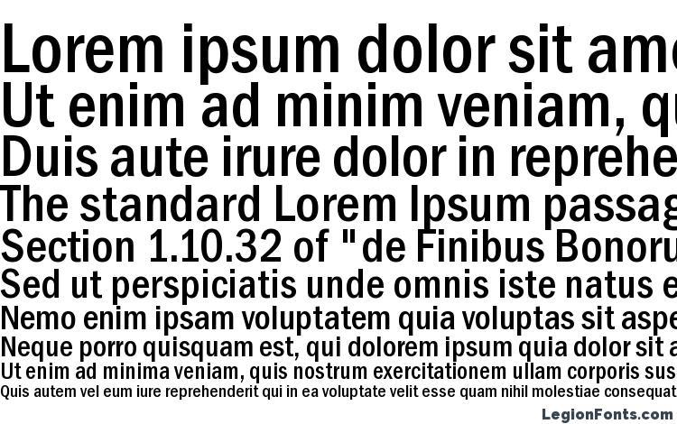 Franklin Gothic Medium Cond Font Download Free / LegionFonts