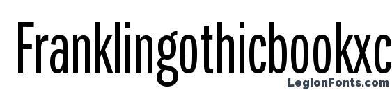 Шрифт Franklingothicbookxcmpc