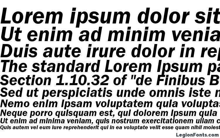 specimens FranklinGotItcTEEDem Italic font, sample FranklinGotItcTEEDem Italic font, an example of writing FranklinGotItcTEEDem Italic font, review FranklinGotItcTEEDem Italic font, preview FranklinGotItcTEEDem Italic font, FranklinGotItcTEEDem Italic font