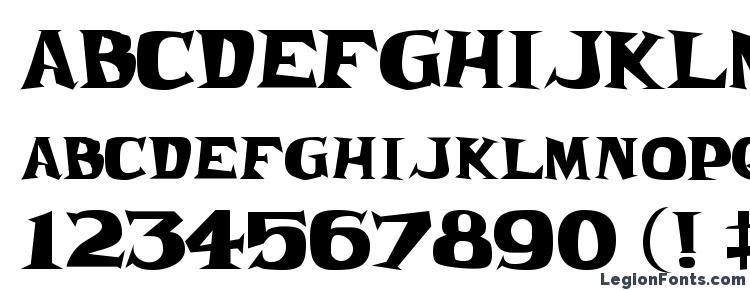глифы шрифта Frantic JL, символы шрифта Frantic JL, символьная карта шрифта Frantic JL, предварительный просмотр шрифта Frantic JL, алфавит шрифта Frantic JL, шрифт Frantic JL