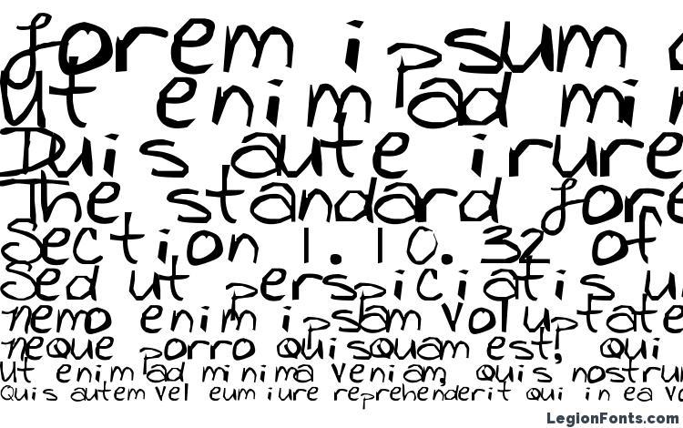 specimens Freckles font, sample Freckles font, an example of writing Freckles font, review Freckles font, preview Freckles font, Freckles font