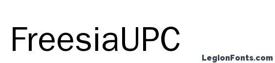 FreesiaUPC Font