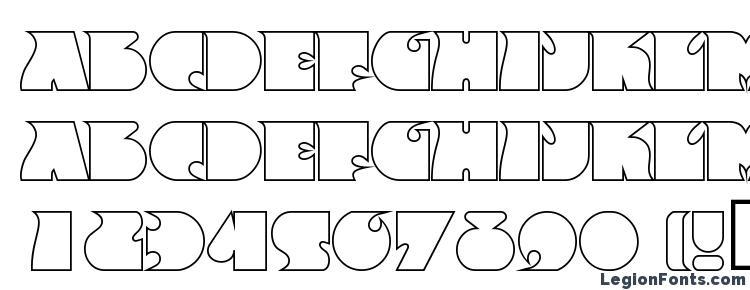 глифы шрифта FrenzyOutline Regular, символы шрифта FrenzyOutline Regular, символьная карта шрифта FrenzyOutline Regular, предварительный просмотр шрифта FrenzyOutline Regular, алфавит шрифта FrenzyOutline Regular, шрифт FrenzyOutline Regular