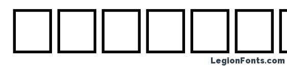 FretsA Regular Font