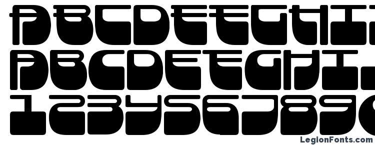 глифы шрифта Frigate, символы шрифта Frigate, символьная карта шрифта Frigate, предварительный просмотр шрифта Frigate, алфавит шрифта Frigate, шрифт Frigate