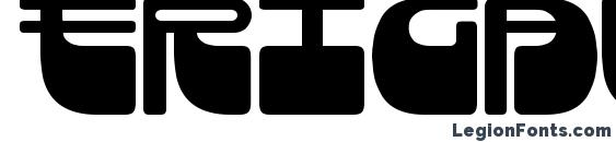 Шрифт Frigate