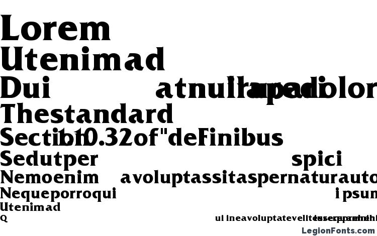 specimens FrizQuadrata Bold font, sample FrizQuadrata Bold font, an example of writing FrizQuadrata Bold font, review FrizQuadrata Bold font, preview FrizQuadrata Bold font, FrizQuadrata Bold font